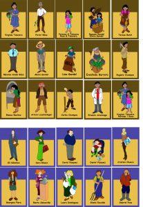 Personatges que protagonitzen la narració: La soja. Per saber el que es cou quan algú diners mou